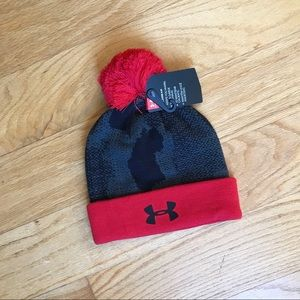 NWT Under Armour Black winter hat